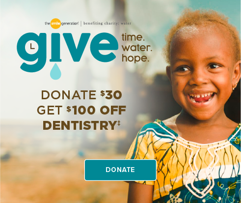 Donate $30, Get $100 Off Dentistry - Hemet Modern Dentistry
